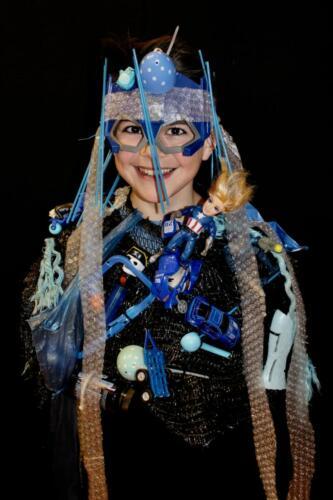 plastic kostuum bovenbouw